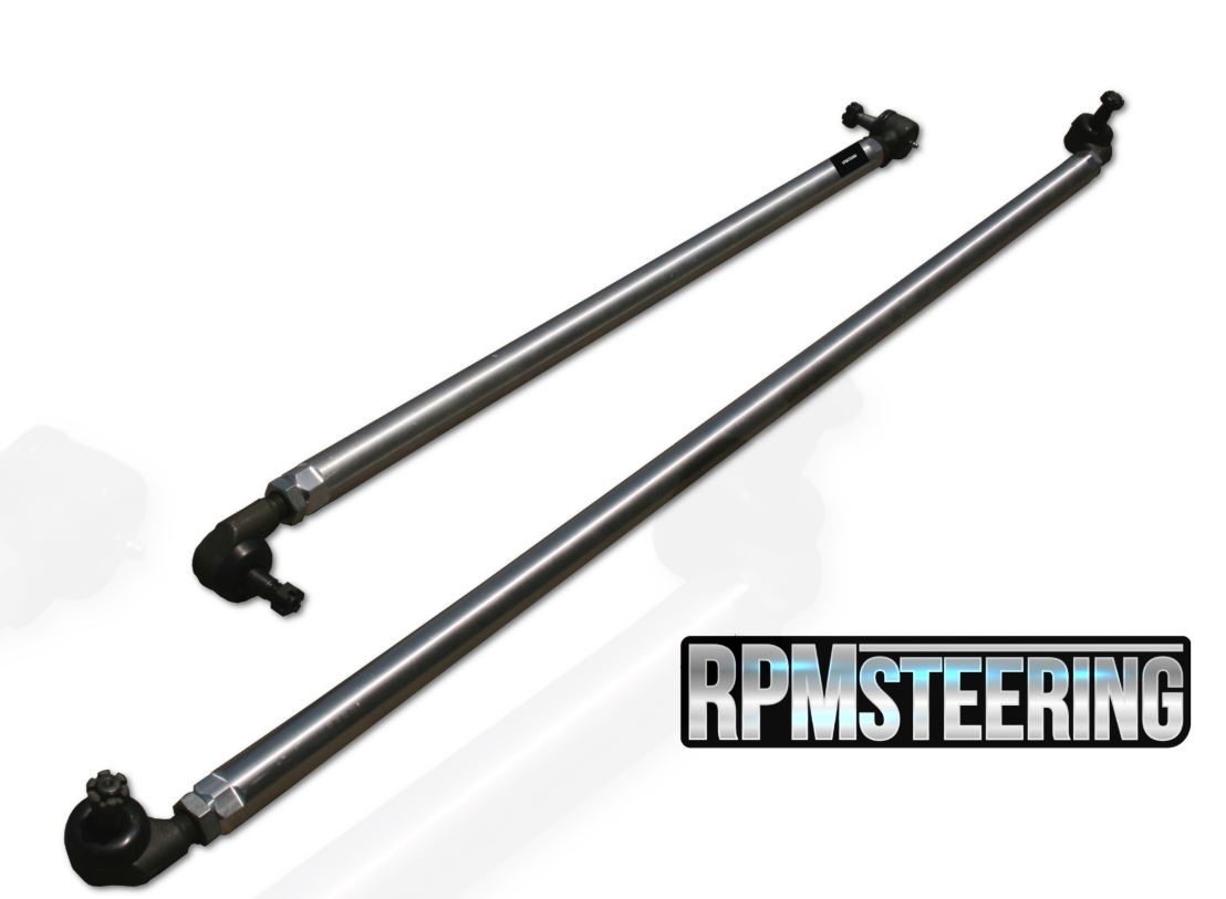 RPM Steering JK 1-Ton Aluminum Tie Rod and Drag Link Steering Flip Kit