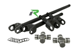 Revolution D30 Non-Rubicon 4340 CHROMOLY FRONT AXLE KIT 07-18 JEEP WRANGLER JK 27 SPLINE KIT W/O LOCKER DISCOVERY SERIES