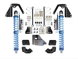 EVO MFG JL NV2514 REAR BOLT-ON COILOVER KIT BLACK