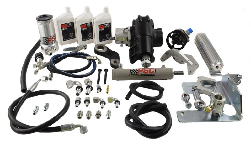 PSC 12-18 Jeep JK BIG BORE XD Cylinder Assist Kit (OEM AXLE)