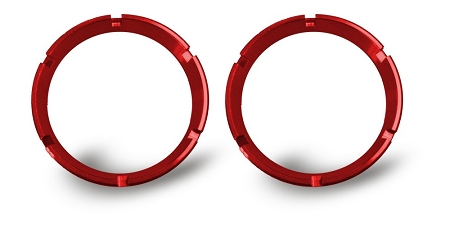KC HiLites FLEX™ Series Colored Bezels (pr)