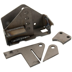 Synergy Jeep JK Weld-On Front Axle Track Bar Bracket