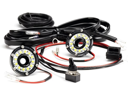 KC Cyclone LED 2-Light Universal Under Hood Lighting Kit