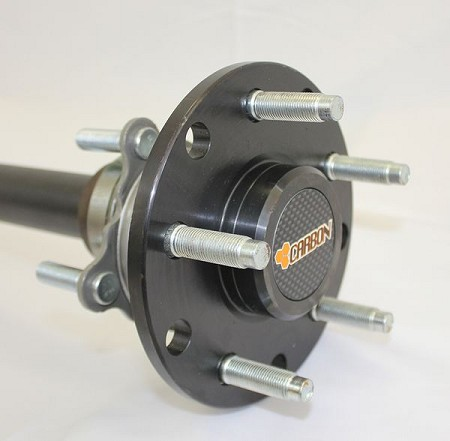 Carbon Jeep Jk Sport / Sahara / X  Model Dana 44 Rear Chromoly Axle Kit 30 Spline CR156 Fully Assembled