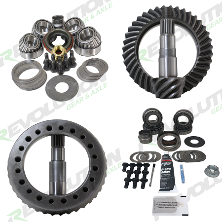 Jeep TJ (D44/D30) gear package