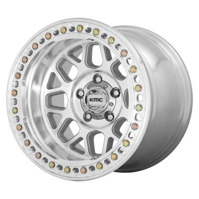 KMC KM235 Grenade Crawl Wheel, 17x9 with 5 on 5 Bolt Pattern - Machined