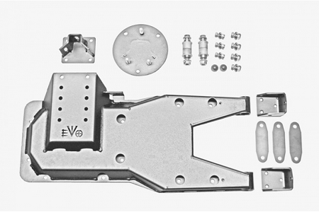 EVO MFG JK PRO SERIES HINGED GATE CARRIER (RAW)