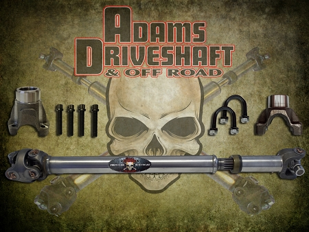 ADAMS DRIVESHAFT JL REAR 1310 CV DRIVESHAFT SAHARA 2 DOOR [EXTREME DUTY SERIES]