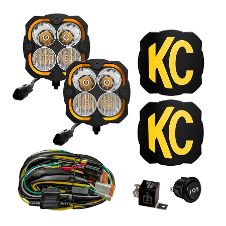 KC FLEX ERA® 4 - 2-LIGHT SYSTEM - 80W COMBO BEAM - #287
