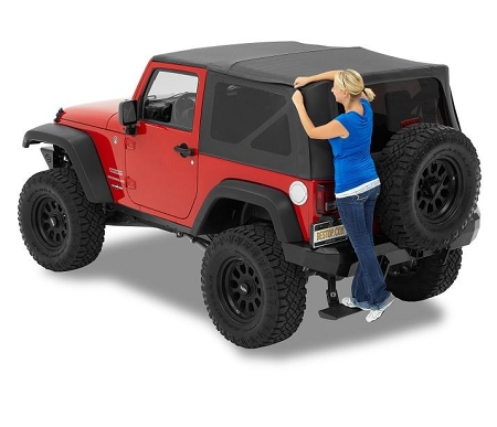 Bestop Supertop NX with Tinted Windows JK (Black Diamond) - 54722-35