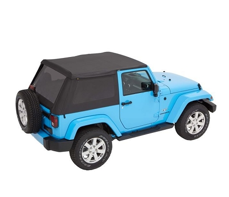 Bestop Trektop NX Plus with Tinted Windows JK (Black Diamond) - 56852-35