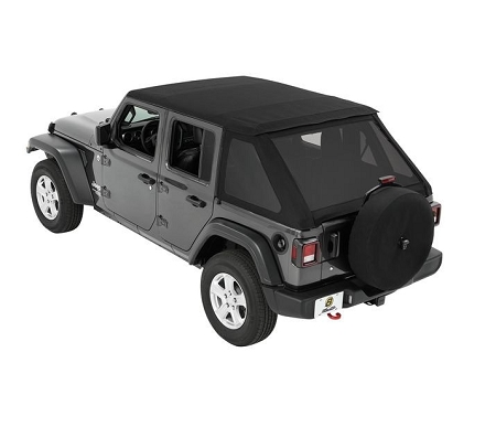 Bestop Trektop NX Soft Top (Black Diamond) - 56863-35