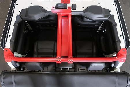 Rock Hard 4x4™ Rear Cage Brace System for Jeep Gladiator JT 2020 - Current [RH-80700]