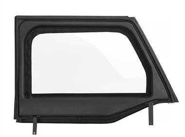 Bestop Upper Front Core Doors JK (Black Twill) - 51732-17