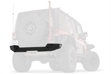 Jeep Wrangler (JL) Warn Elite Series Rear Bumper (Black) - 102410
