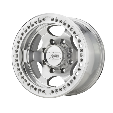 KMC XD Wheels XD232 Series, 17x9 with 8x6.5 Bolt Pattern - Machined - XD23279080538N