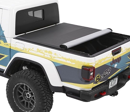 Bestop EZ-Roll Soft Tonneau Cover Jeep Gladiator (Black Twill) - 19280-17