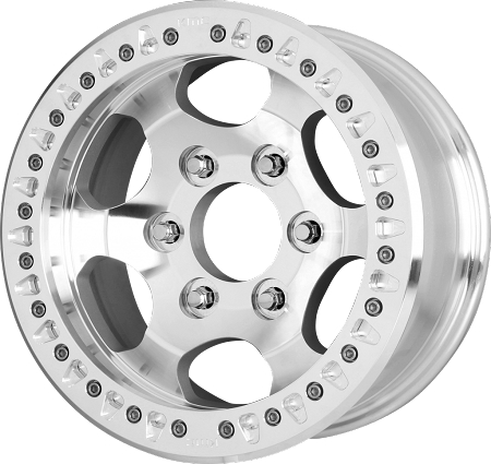 KMC XD Wheels XD231 RG Race, 17x8.5 with 8x6.5 Bolt Pattern - Machined - XD23178580500