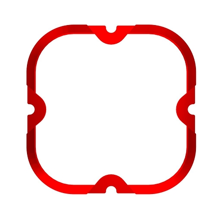 KC FLEX ERA® 4 - 1-BEZEL RING - ED COATED - RED - #30571