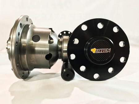 Carbon Jeep JK 35 Spline ARB Rear Axle Bundle
