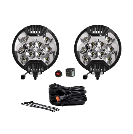 "KC Gravity® Slimlite® LED 6"" Pair Pack System"